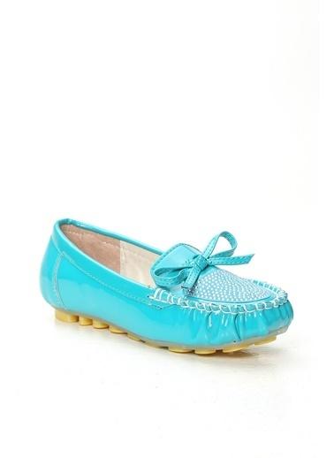 Violetta Shoes Babet Yeşil